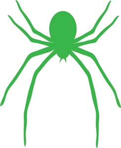 Alf img showing green spider web clip art