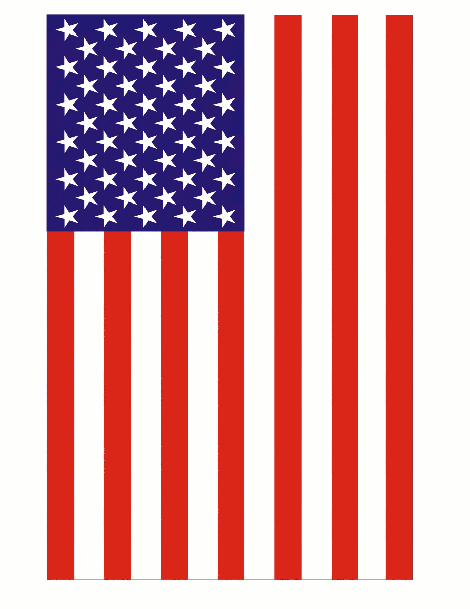 American flag clipart free usa graphics clipartcow 3