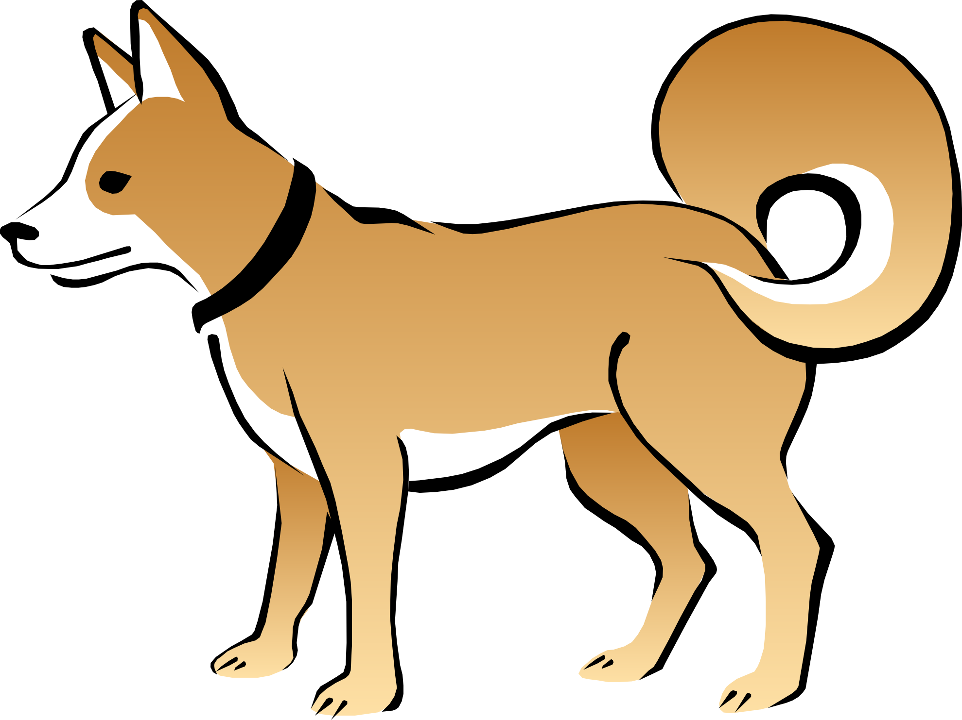 Animal dog clipart