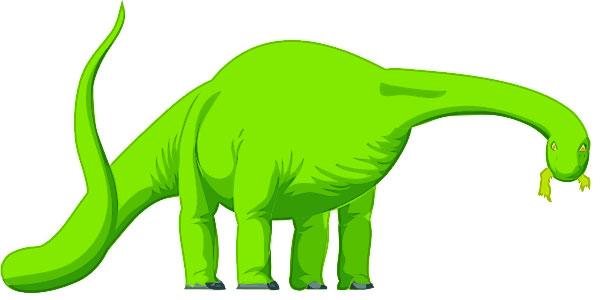 Apatosaurus brontosaurus clip art dinosaur pictures