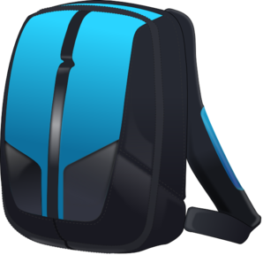 Backpack clip art at clker vector clip art