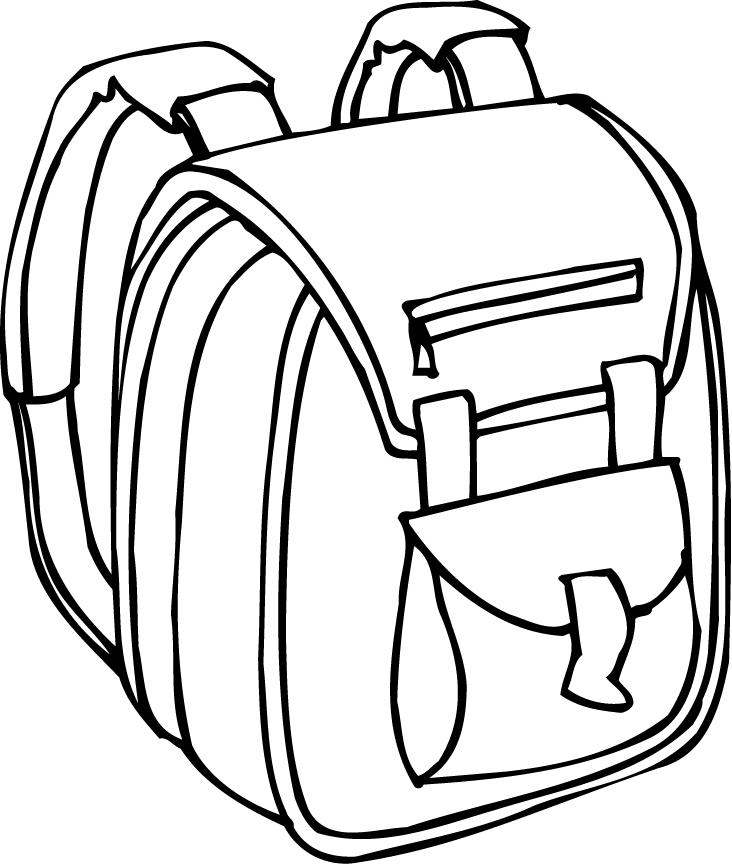 Backpack printables clipart