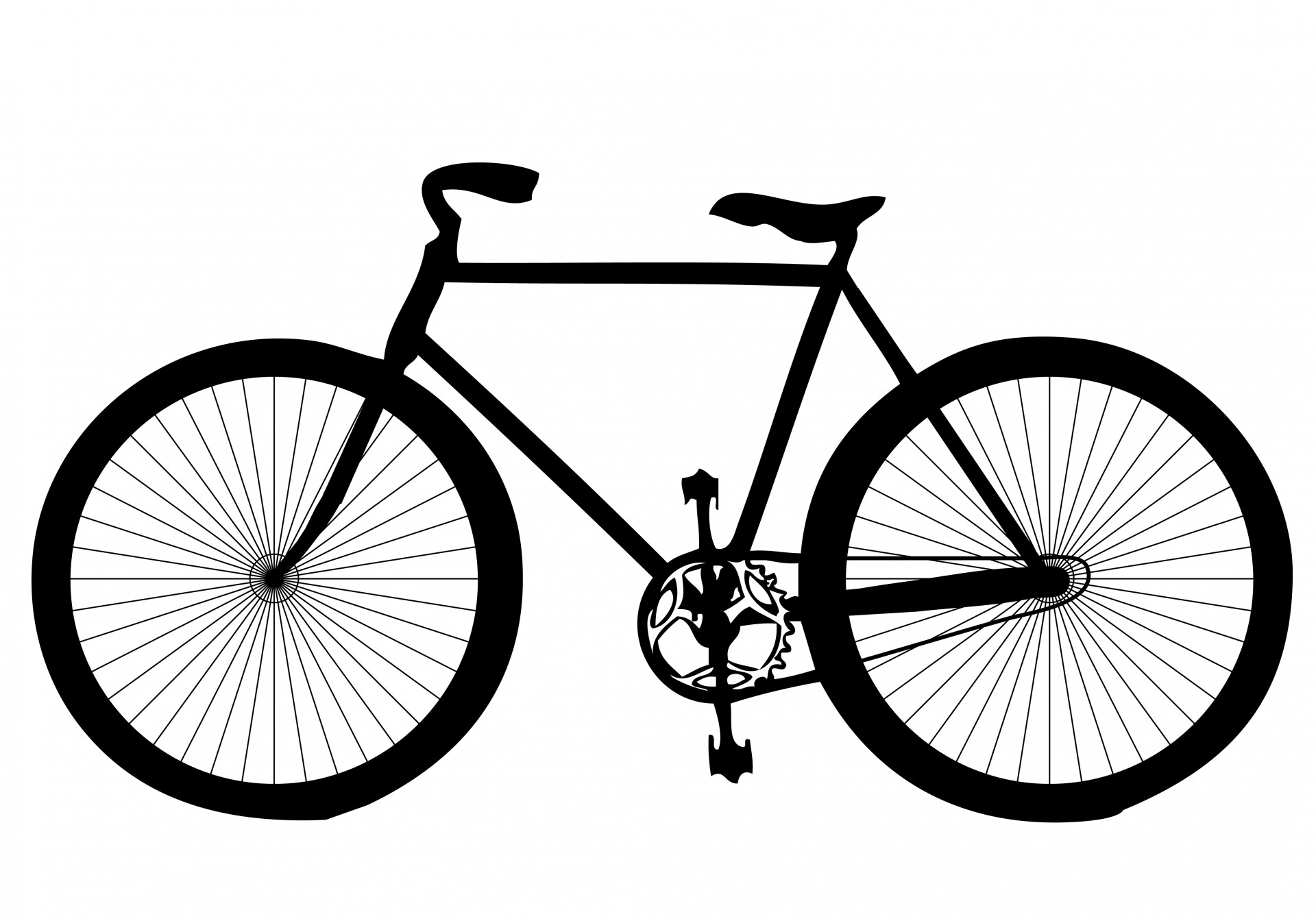 Bicycle clip art girirejo