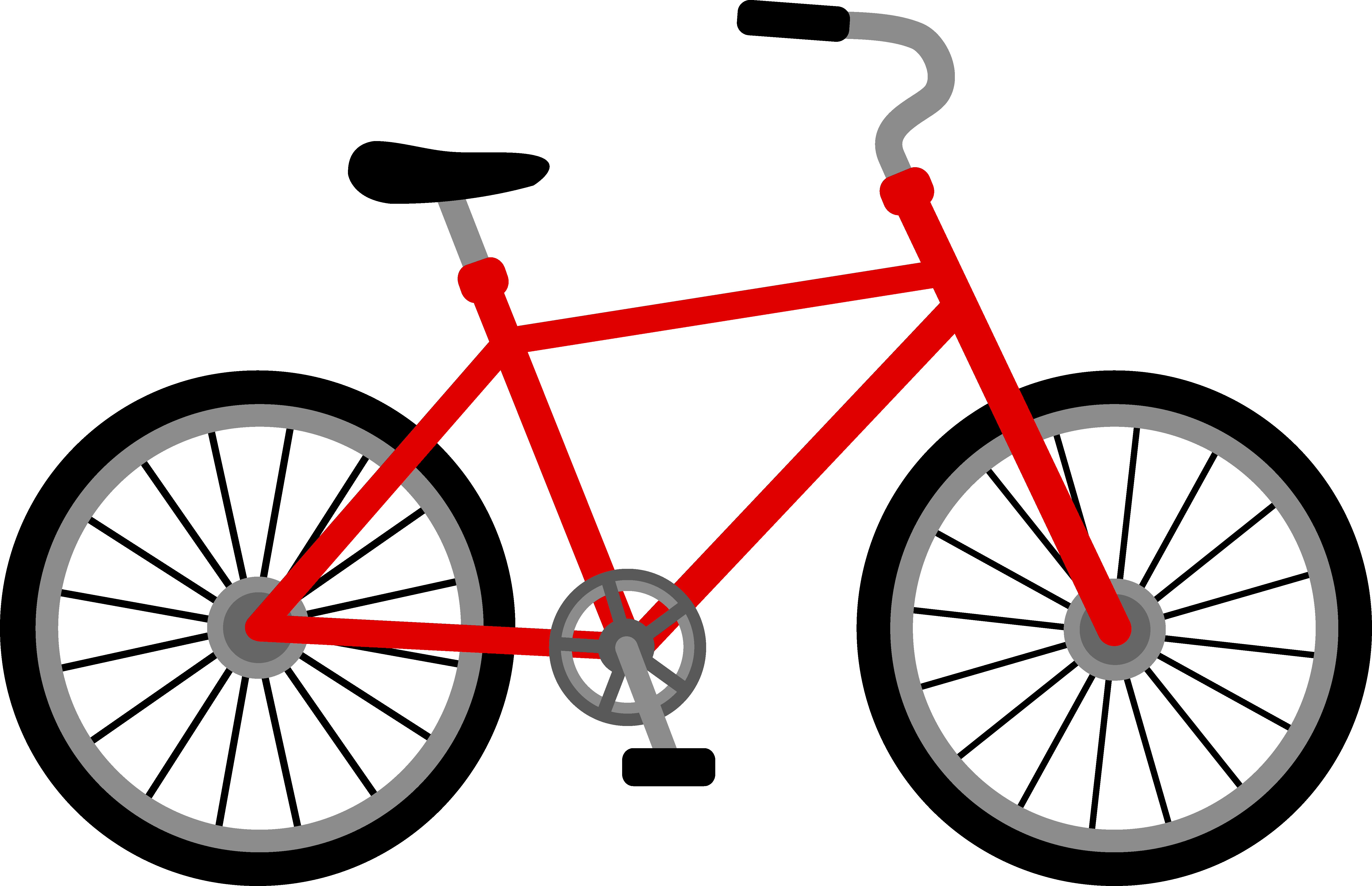 Bicycle clipart free clipart images