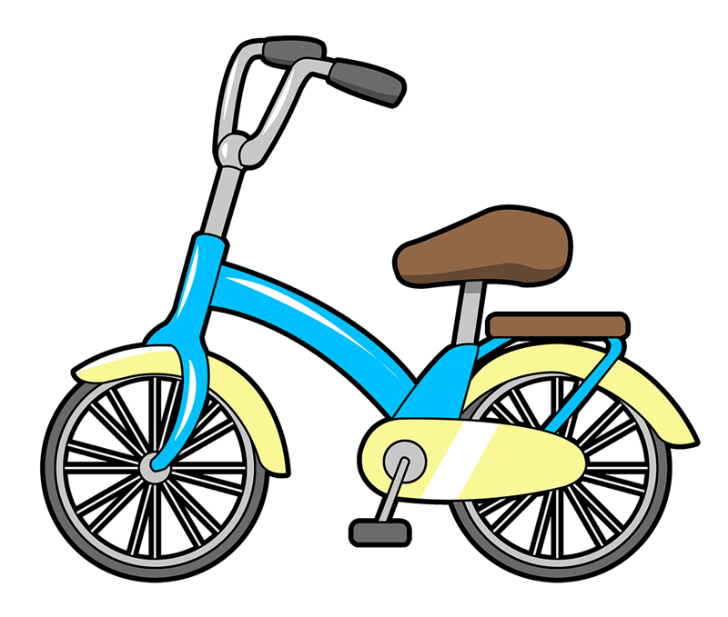Bicycle free to use clip art