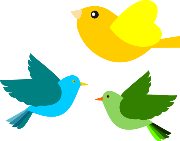 Bird flying clipart - Clipartix