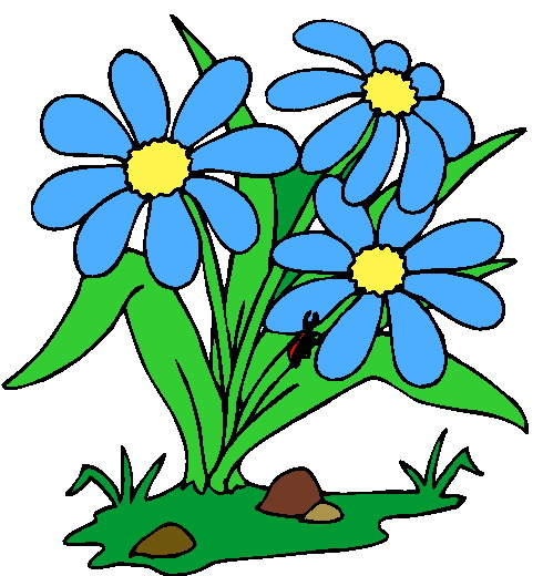 Birthday flowers clipart free clipart images