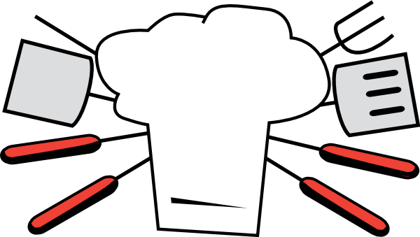 Black and white bbq clipart free clipart images 3