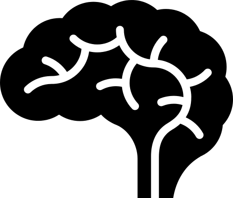 Blank diagram of the brain clipart clipartcow
