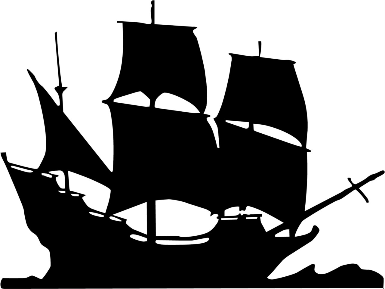 Boat pirate clipart clipartion com