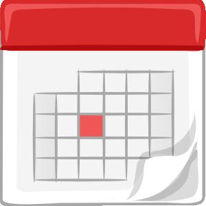 Calendar clip art free 2 clipartcow
