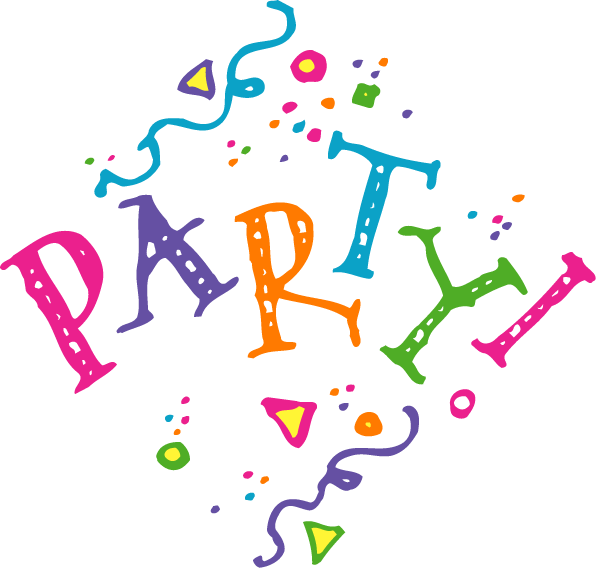 Celebration let party clip art free clipart images 3 clipartcow