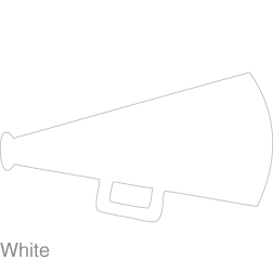 Cheerleader megaphone clipart clipartdeck clip arts for free