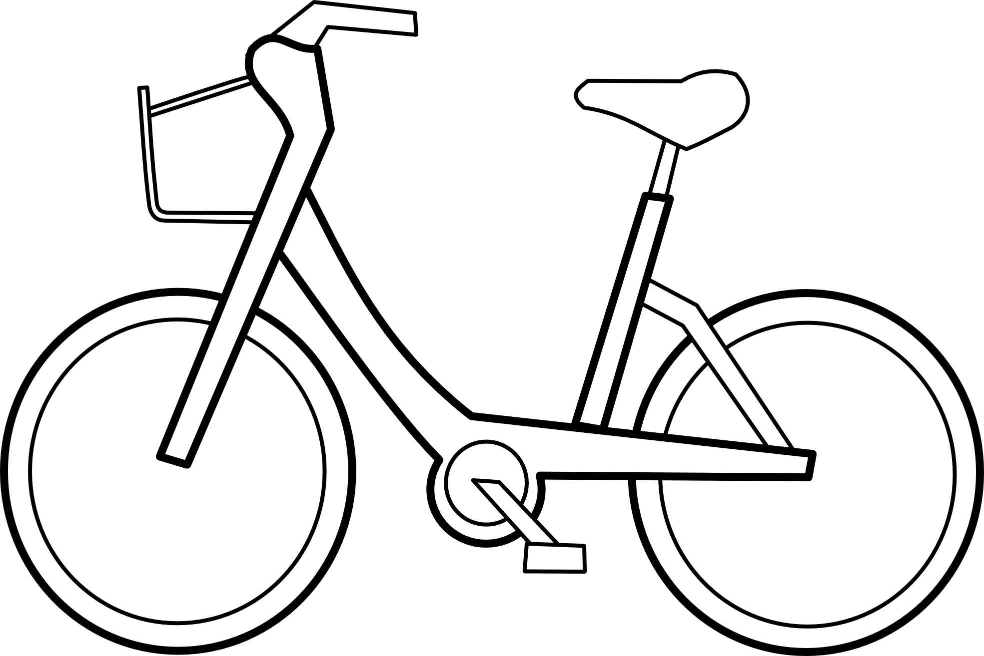 Clipart bicycle clipart cliparts for you