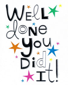 Image result for images for congratulations you did it!