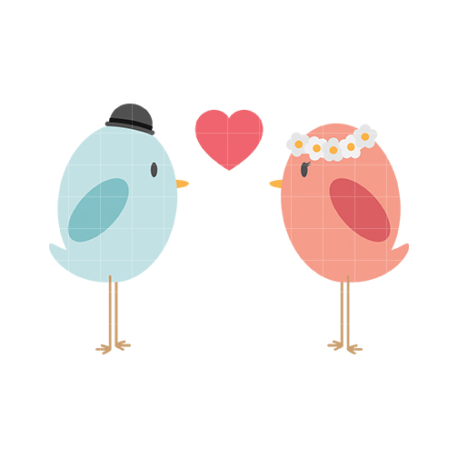 Cute love birds clipart free clipart images 3