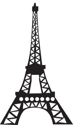 Eiffel tower art on paris paris art and tour eiffel clipart