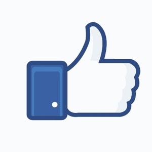 Facebook thumbs up image clipart