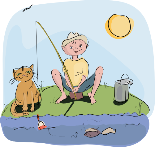Fishing 2 clip art download