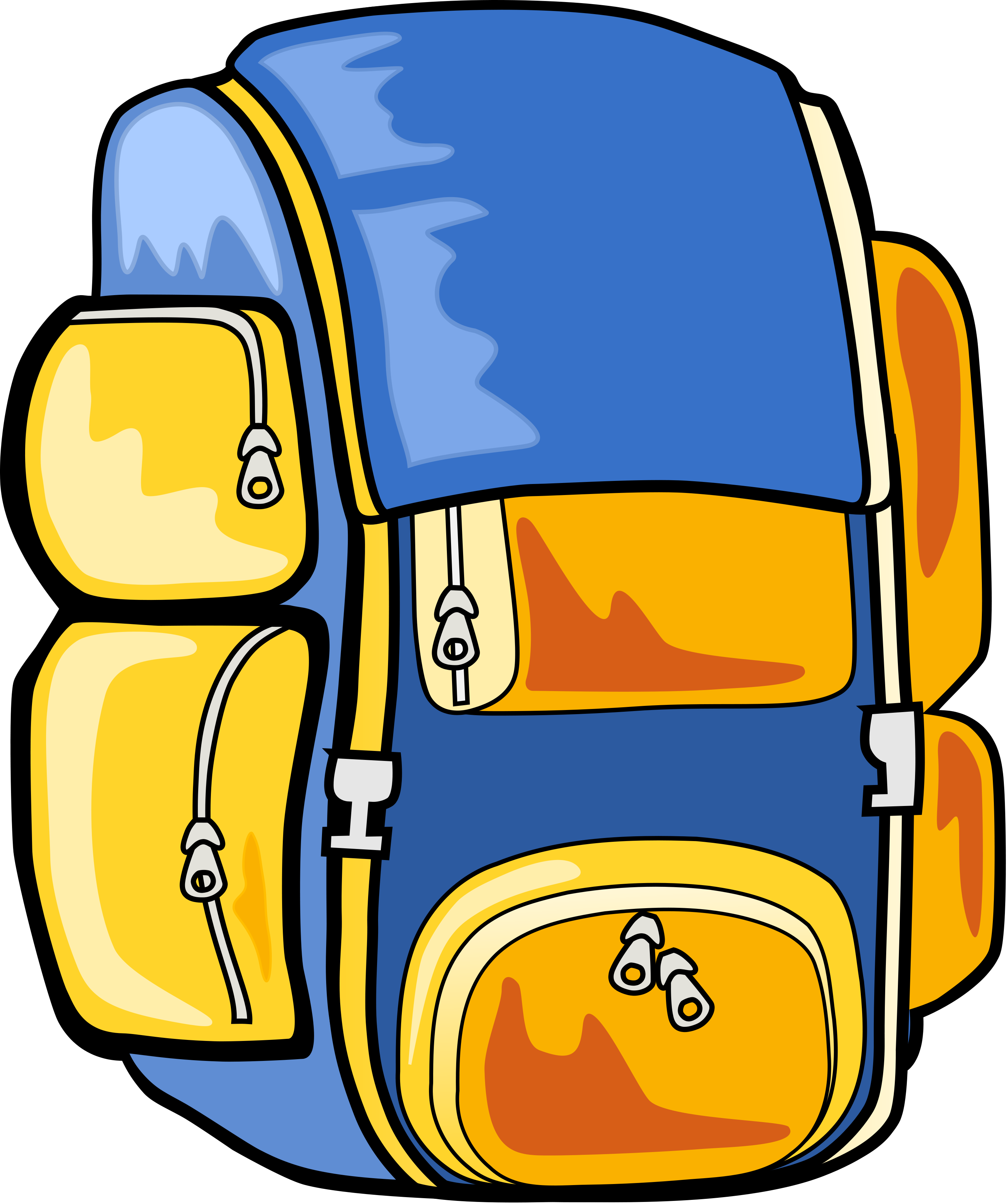 Free books in backpack clipart free clipart graphics images and