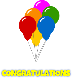 Free congratulations clipart free images image the cliparts