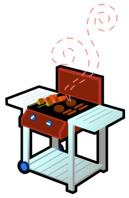 Free food clip art brown bbq clipart cliparts for you