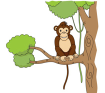 Free monkey clipart clip art pictures graphics illustrations