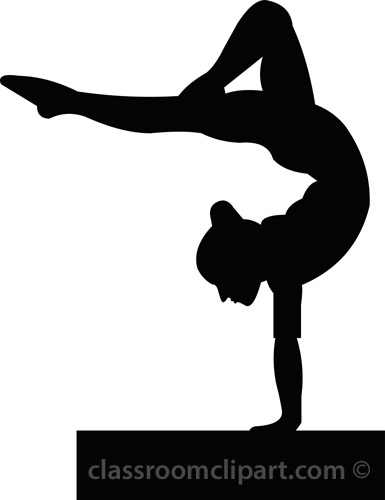 Free sports gymnastics clipart clip art pictures graphics clipartcow