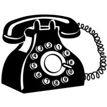 Gallery for ringing phone clip art