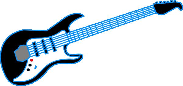 Guitar clip art 7