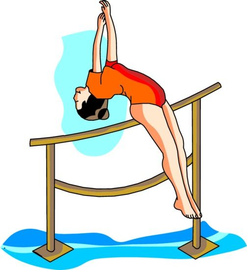 Gymnastics gallery for animated gymnastic clip art clipartcow