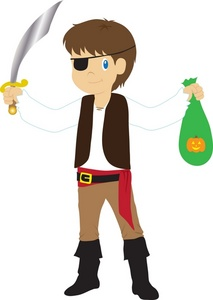 Halloween pirate clip art dromfhg top