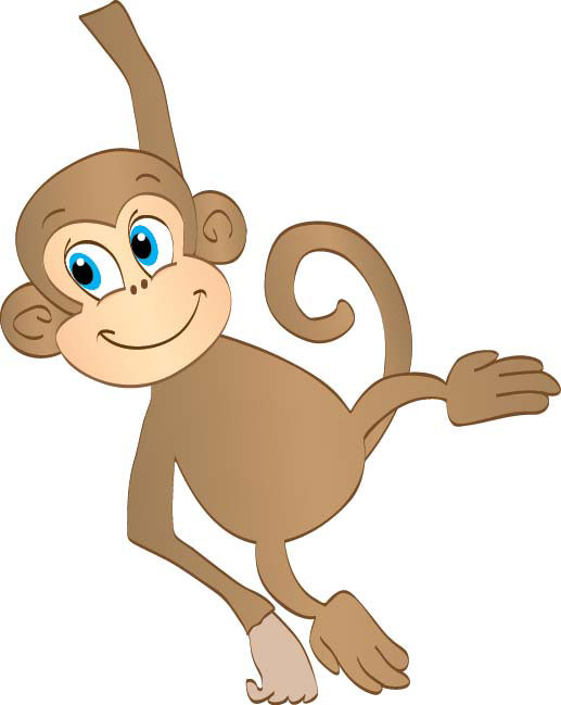 Hanging monkey clipart dromggg top
