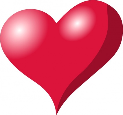 Hearts heart clipart free love and romance graphics image