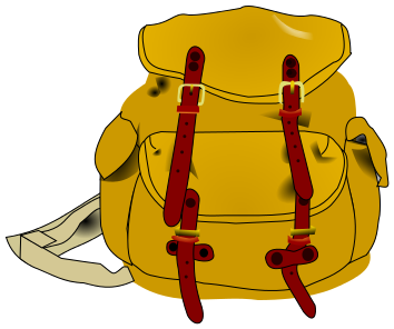 Hiking backpack clip art hiking backpack clipart photo 2