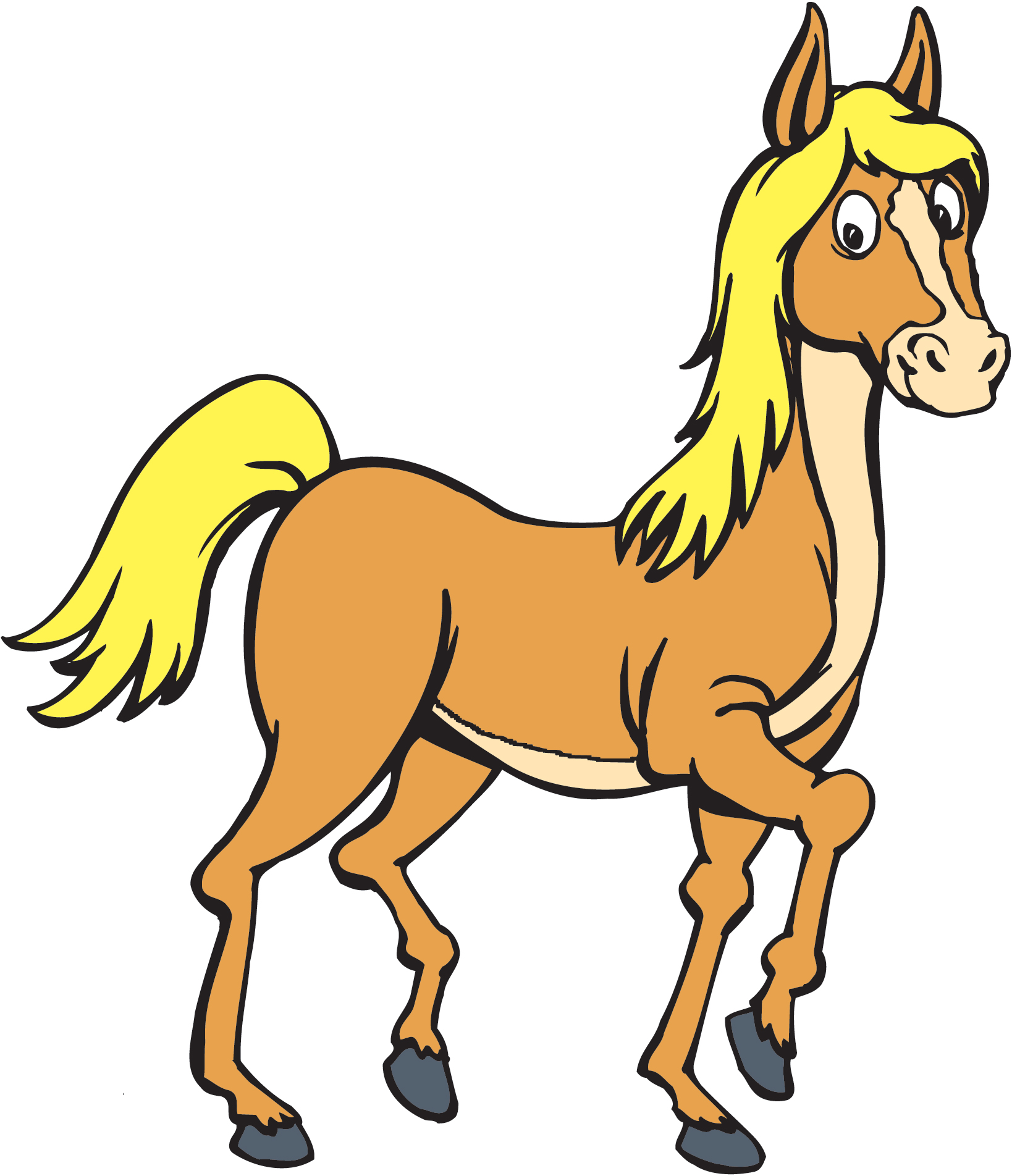 Horse related clipart