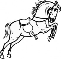 Horse silhouette clip art free vector for free download about