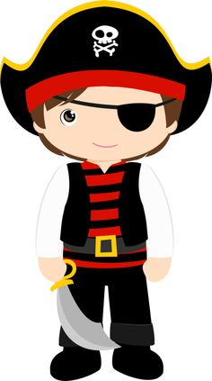 Minus say hello piratas pirates girl pirates clip art