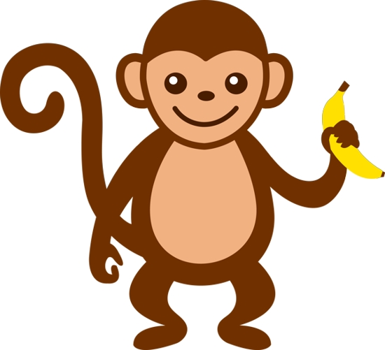 Monkey clip art for teachers free clipart images