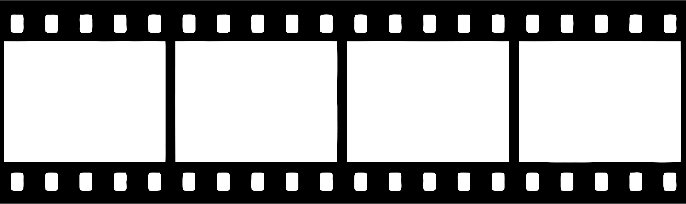 Movie film strip clipart