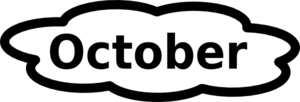 October celebrate clipart image