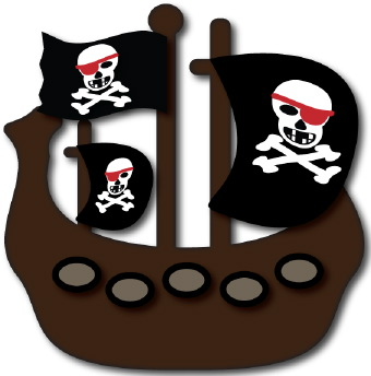 Pirate clip art 2