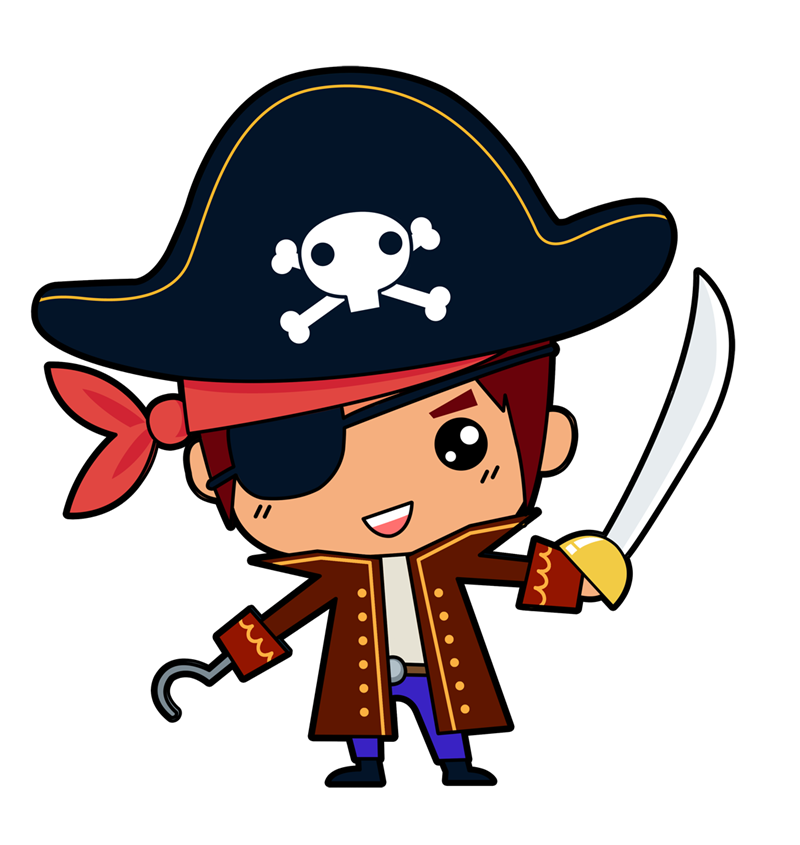 Pirate free to use cliparts