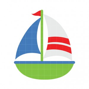 Sailboat 5 clip art