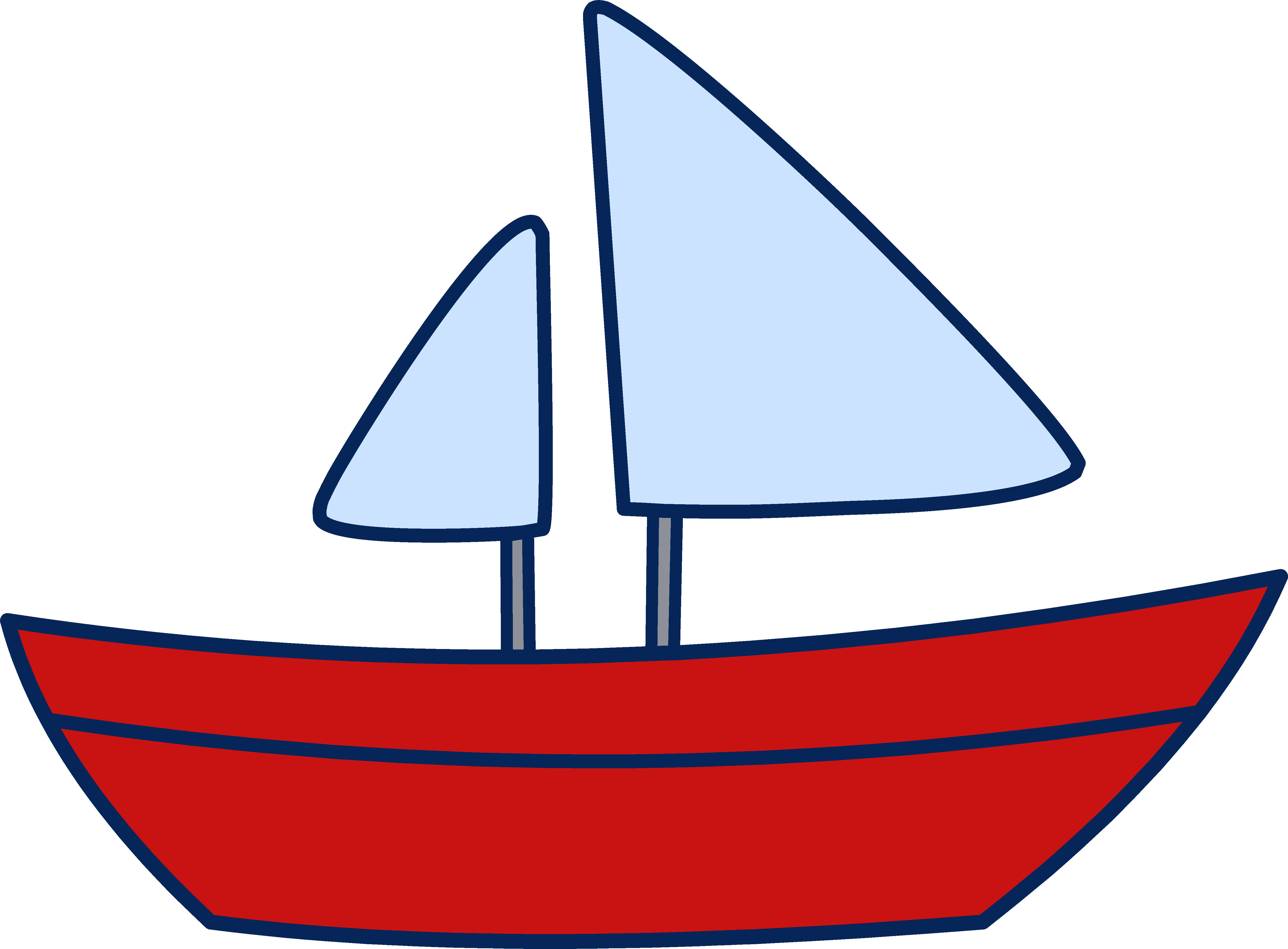Sailboat clip art free clipart images