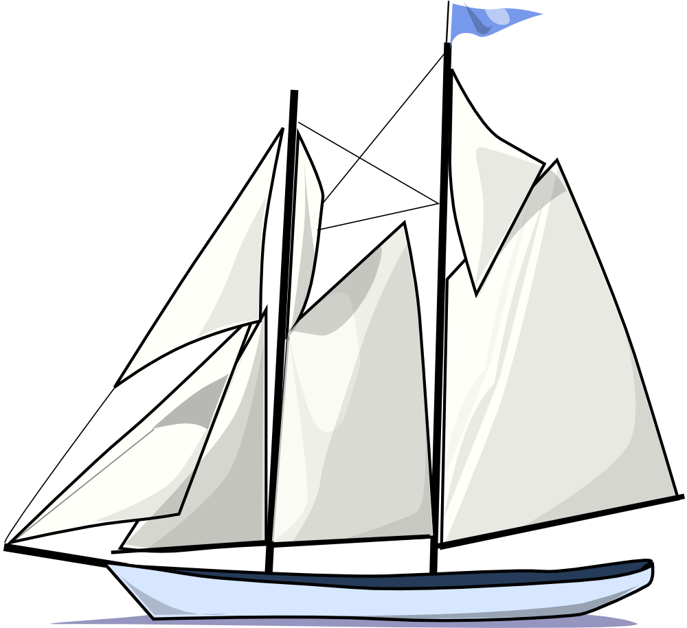 Sailboat clipart free clipart images