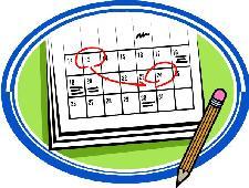 School calendar clip art clipart