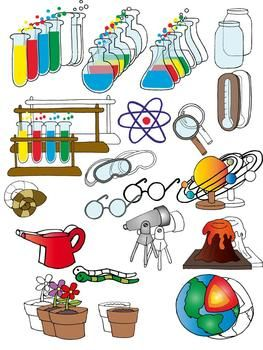Science clip art set clip art science and art 2