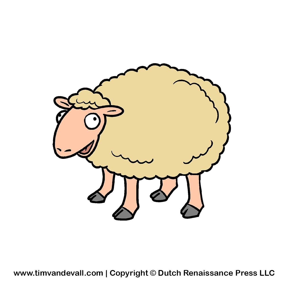 Sheep clipart 7 image