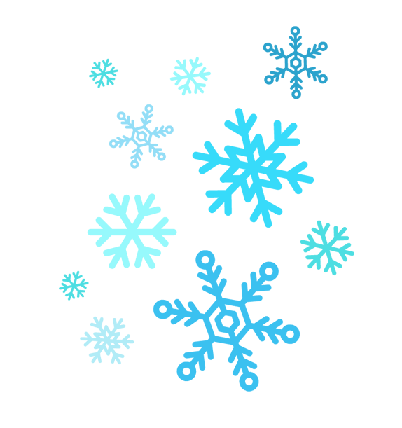 Snowflakes free to use clipart
